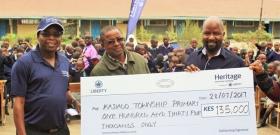 Heritage Unveils School Feeding Programme